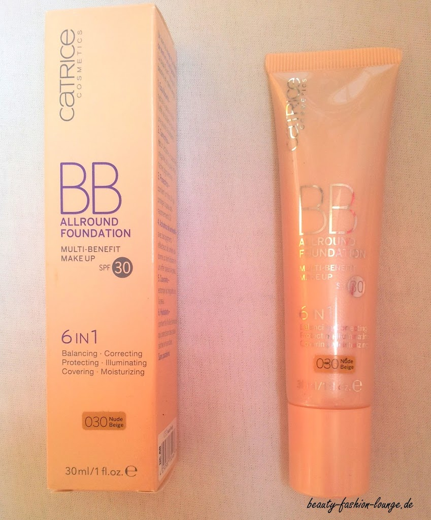 Review: BB Allround Foundation Multi-Benefit Make up Catrice