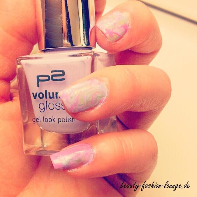 Nailart Nr. 1 : Water Marble Nails